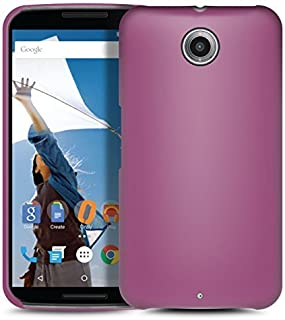 Orzly - Exec-Armour HARD BACK CASE for NEXUS 6 - Solid Back Protective Cover Phone Case in PURPLE - Made to custom specs of the Motorola/Google NEXUS 6 SmartPhone (2014 Model)