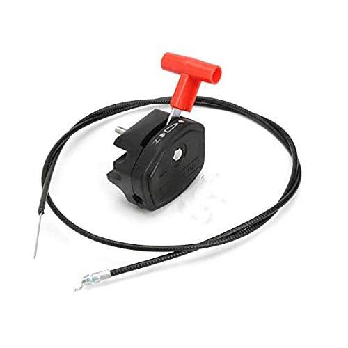Alamor Universal 142Cm 56 Pulgadas Del Cable Del Acelerador Y La Palanca Del Estrangulador Para Cortacésped Lawn Mower