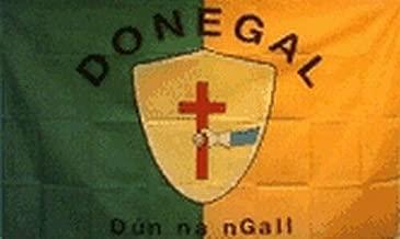 Montree Shop County Donegal Ireland Flag 3x5 ft Irish Co Cross Shield Gaelic Football Games