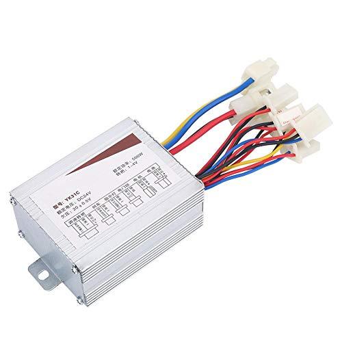 Controlador de Motor Cepillado 24V 500W Caja de Control de Velocidad del...