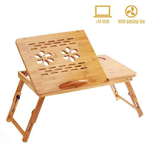 classement un comparer Support pliable en bambou pour ordinateur portable Aibecy Petit déjeuner Plateau…