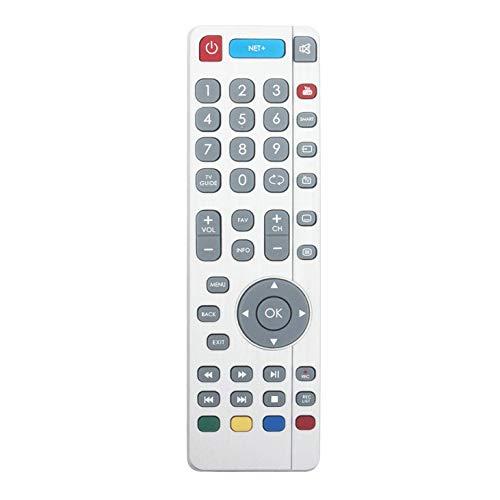 VINABTY SHW/RMC/0111 SHWRMC0111 Control Remoto de Repuesto para Sharp televisores Inteligentes Aquos con Botones Net + de Youtube LC-49CUF8461KS LC49CUF8462ES LC-49CUF8462ES