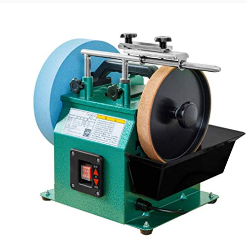 SISHUINIANHUA 10-Zoll-Positive Und Negative Edelkorund Sharpener Niedriger Geschwindigkeit Grinder Poliermaschine Tischschleifmaschine