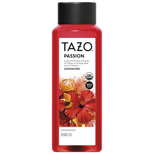 Tazo Iced Tea, Hibiscus Passion Herbal Tea, 42 fl oz Bottle