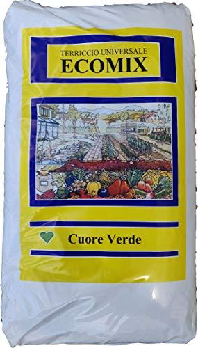 VIALCA TERRICCIO Universale ECOMIX Ideale per Il rinvaso di Piante da Fiore (70 LT)