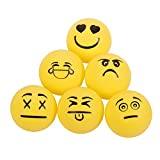 STIGA 1-Star Emoji Table Tennis Balls (6 Pack)