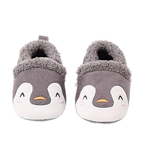 Little Beauty Premier Pas Bebe - Zapatos para niña/niño, Gris (color 3), 3-6 mois