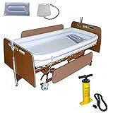 Sistema de Ducha de bañera Inflable médico,Ducha portátil para discapacitados con Bomba,Ayuda de Asistencia para el baño en la Cama para Pacientes postrados en la Cama Que se bañan fácilmente