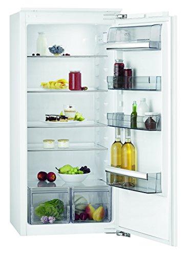 AEG SKB61221AF Kühlschrank / großer 202L Einbaukühlschrank ohne Gefrierfach / Schnellkühlfunktion und Glasablagen / EEK A++ (103 kWh/Jahr) / Einbau-Höhe: 122,5 cm / weiß