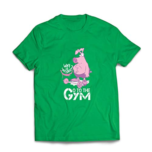 lepni.me Mannen T-shirt Go to the Gym Funny Fitness Weight Training Slogan