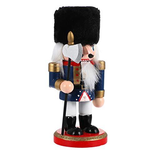 GARNECK Mini Estatuilla de Cascanueces de Navidad 15Cm Soldado de...