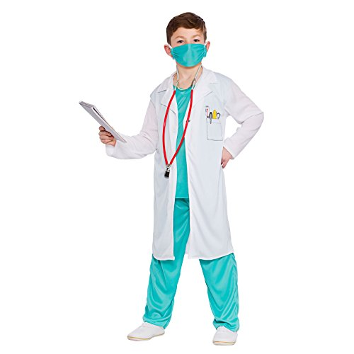 Hospital Doctor - Unisex Kids Costume 5 - 7 years