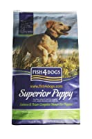 A salmon, potato and pea complete dinner for puppies - with 30% protein level to support the puppies growth and development Omega 3 from fish is great for coat, skin, development of joints and supporting brain development in the early stages of growt...