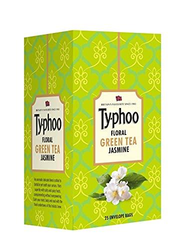 Typhoo Floral Jasmine Green Tea Bags (25 Tea Bags)