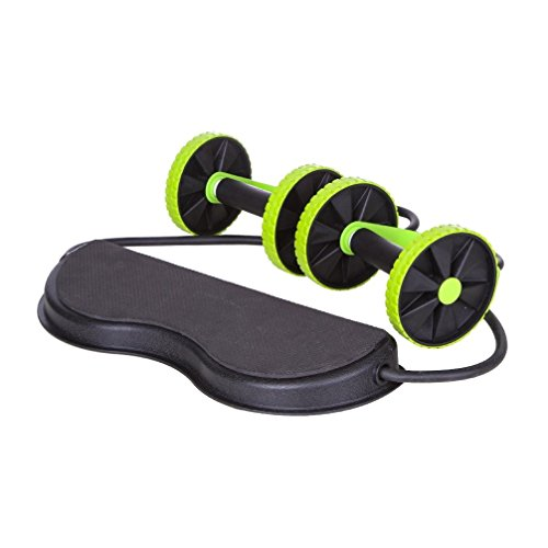 Jungle Sport Ab Roller Pro Carver; Core Muscle Exercise Trainer (with Training Guide)