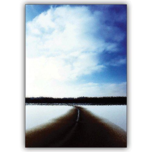 Wenskaarten met inkoopkorting: winterkaart om het hart te verwarmen, wanneer het buiten echt koud is. • mooie groet vouwkaart met envelop binnen blanco voor lieve woorden 16 Grußkarten