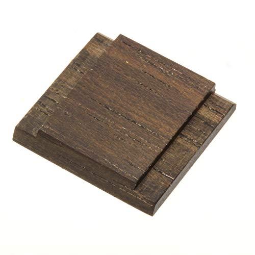 エフフォト F-Foto ウッド シュー カバー 木製 (無垢) ストロボ、フラッシュのホット シューに取付 シンプルタイプ コクタン (黒檀、エボニー) WCS-KO
