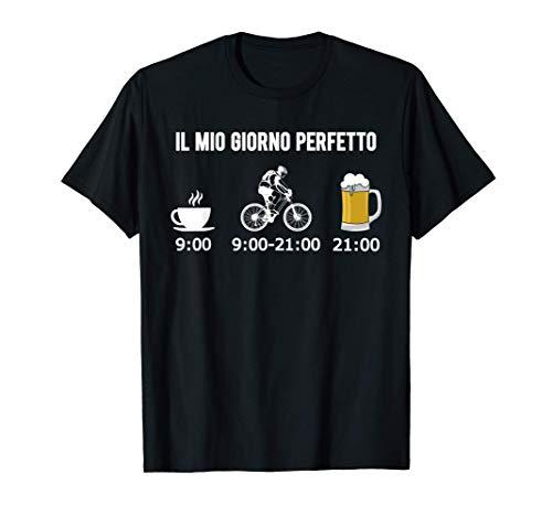 Uomo Mountain Bike Bici Regalo MTB Giorno Perfetto Bicicletta Maglietta