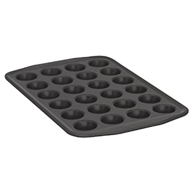 Baker's Secret 1107170 Signature 24-Cup Muffin Pan, Mini