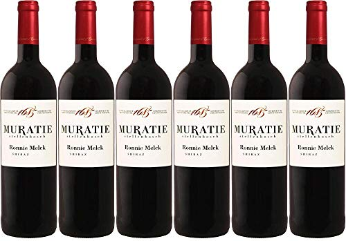 6x Wine Ronnie Melck Shiraz 2016 - Weingut Muratie Estate, Stellenbosch - Rotwein