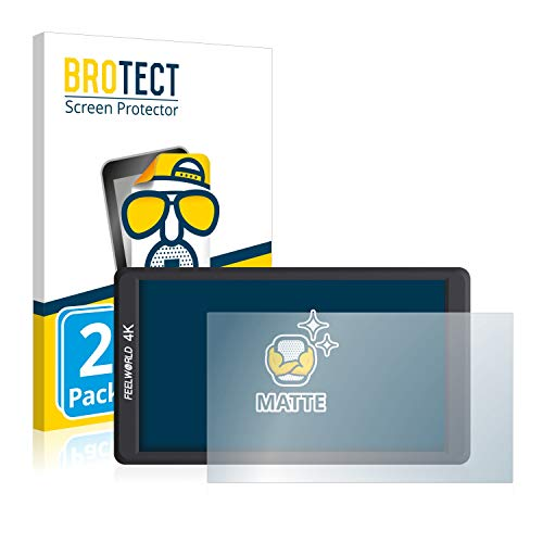 BROTECT 2X Entspiegelungs-Schutzfolie kompatibel mit Feelworld F570 (5.7