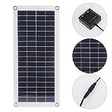 SALUTUYA Cargador de Panel Solar portátil Flexible de Salida Dual de 10W Cargador de Panel de...