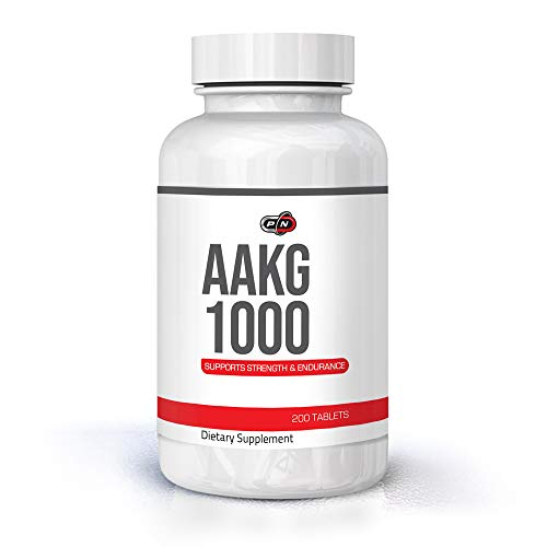 L-Arginine AAKG Capsules Nitric Oxide Pre Workout Booster Supplement 1000mg|L Arginine Alpha Ketoglutarate Amino Acid|Muscle Growth Extra Strength Pump Vascularity Energy Endurance|50 and 100 Servings