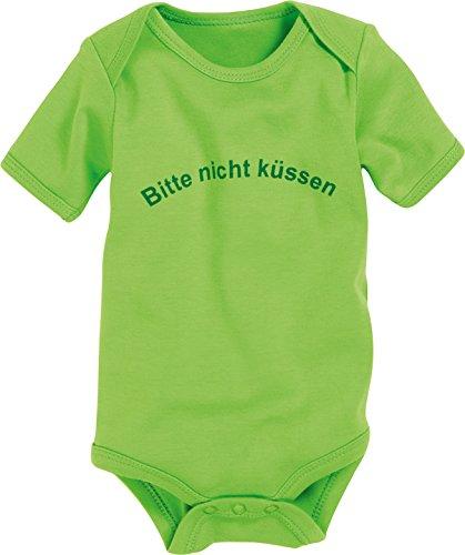 Schnizler Kurzarm, Bitte Nicht Küssen , Verde ( Grün (grün 29) , Grün (grün 29)