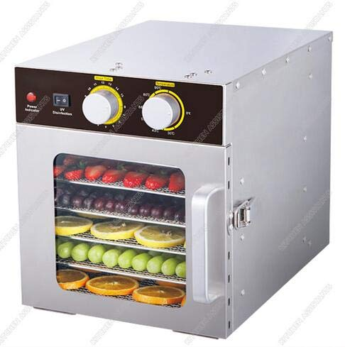 Discover Bargain Electric 220V 110V Fruits Dehydrator Machine Commercial Stainless Steel Food Dehydr...
