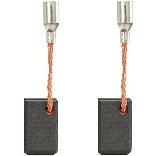 Kohlebürsten Kohlen Motorbürsten für BTI Winkelschleifer WKS 125-2 6,5x8mm