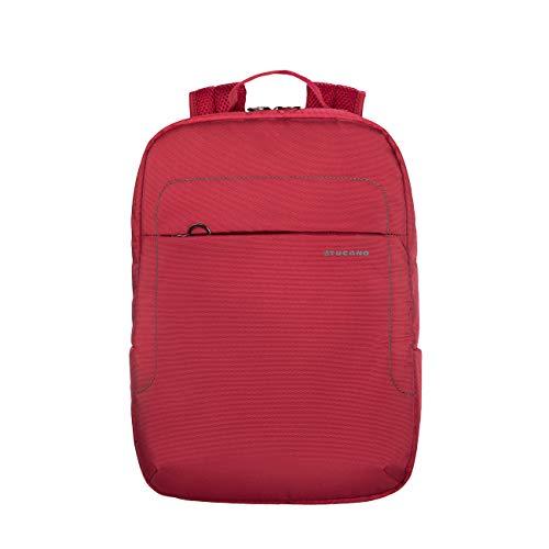 Tucano-Lup-Zaino in Tessuto Tecnico per Notebook 13.3'/14, MacBook Air 13'/MacBook PRO 13'. Tasca Interna Imbottita per Notebook, Tablet o iPad. Tasca di Sicurezza sullo Schienale.