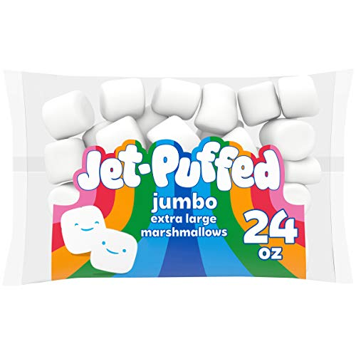 JetPuffed Jumbo Mallows Marshmallows Extra Large 24 oz Bag