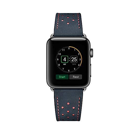 42MM 44MM kalfslederen band voor alle iwatch versies verscheidenheid aan stijlen en kleuren echt lederen horloges riem voor IWatch Sport, editie, serie 5, serie 4, serie 3, serie 2, serie 1