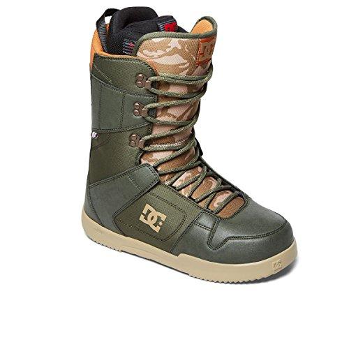 DC Shoes Phase - Boots de Snow à Lacets - Homme - EU 42 - Vert