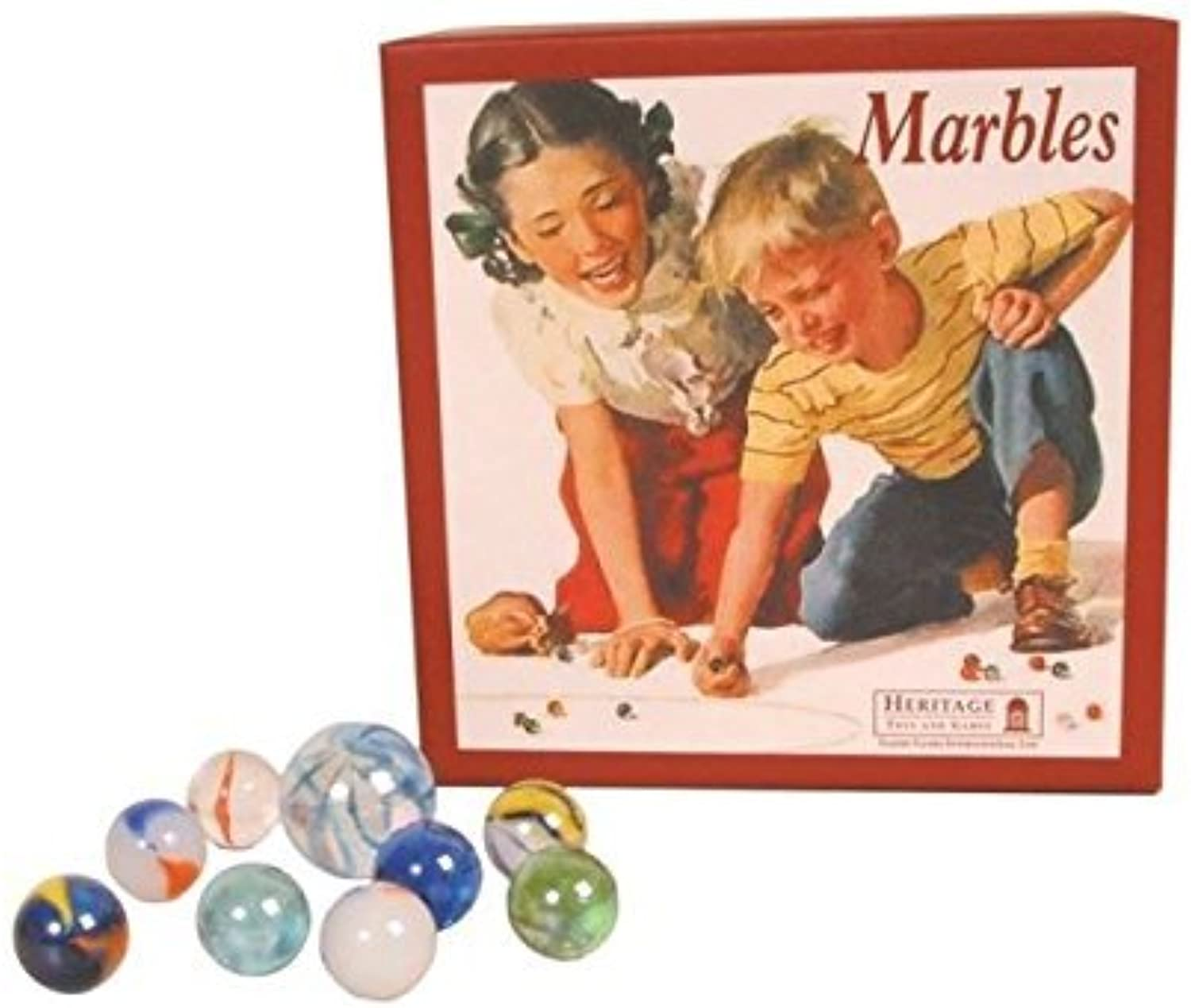 Retro Marbles by House of Marbles