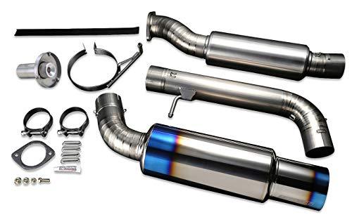 Tomei Expreme Titanium Exhaust System for 2009-11 Nissan 370Z Z34 VQ37VHR