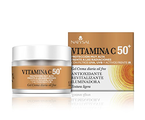 Natysal Vitamina C 50+,  Gel- Crema Diaria Oil Free