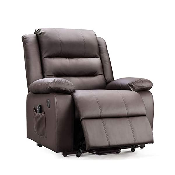 DEVAISE OKIN Dual-Motor Power Lift Recliner Chair for Elderly, Living Room Sofa Chair...