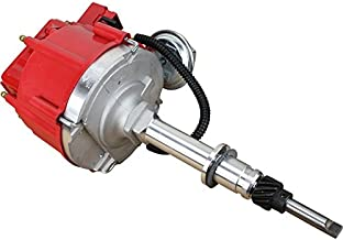 Dragon Fire High Performance Race Series Complete HEI Electronic Ignition Distributor Compatible Replacement For Chevrolet Chevy Inline Straight 6 194 230 250 260 292 Oem Fit DCS6-DF