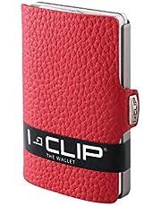I-CLIP Original Silver Pure Red, Cartera, Billetera, Monedero