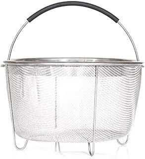 Steamer Basket Instant Pot, Stainless Steel Strainer Instant Pot Accessories, for 6/8 quart