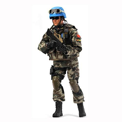 UXD YYBB 1/6 Maßstab Soldaten Spielzeug chinesische Friedenstruppe Soldat Action-Figur PVC Militär Modell Sammlung Spielzeug Mech Modell Male Geschenke