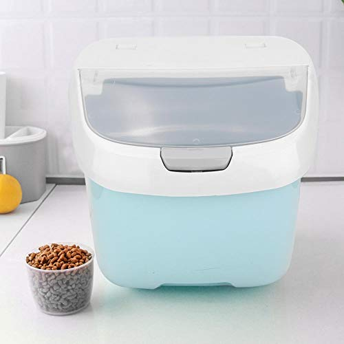 Best Buy! with Measuring Cup Dog Food Bin, Storage Box, Food Storage, Pet Food Container, Dog for Ca...
