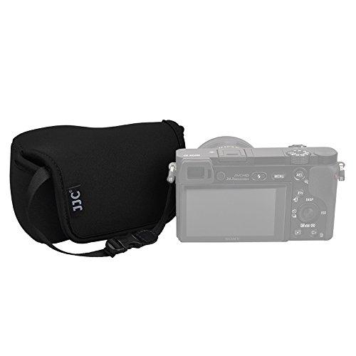 JJC 20*15*11 neopreno caso Negro Cámara Compacta Para Cámara Canon Nikon Fuji cm