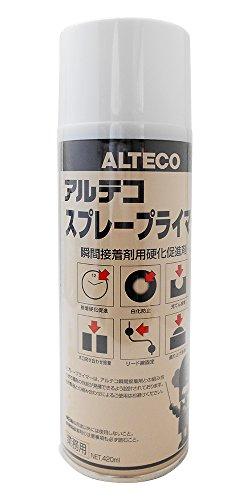 アルテコ 業務用 瞬間接着剤用硬化促進剤 スプレープライマー 420ml