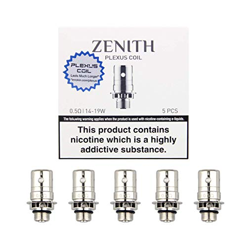 Innokin Zenith Plexus Coil 0.5 ohm,Resistenze di Ricambio Bobina, Pacco di 5