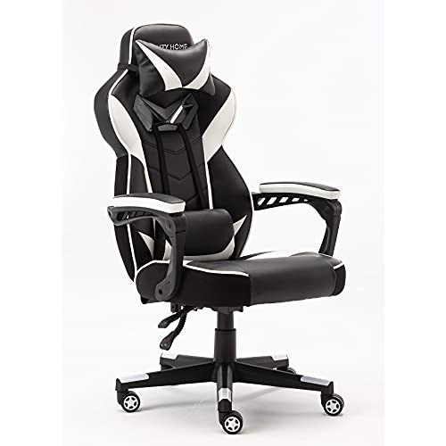 IKAYAA Ergonomic Gaming Chair Office Chair High Back Computer Chair for PC Racing Executive Study Work