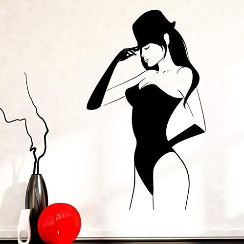 Hwhz 33 X 57 Cm Fototapete Sexy Junge Frau In Dessous Hot Vinyl Aufkleber