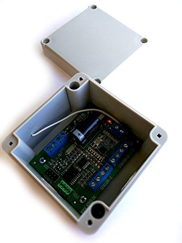 Danitech Funk Sender 868MHz für 3 Temperatur Feuchtigkeit Sensoren Temperatursensor DS18B20 DHT-22 SHT-22 im IP65 Gehäuse auch passend an Homematic CCU2 / FHEM über Jeelink