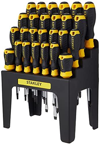 Stanley 062142 - Set di cacciaviti con supporto porta-cacciaviti, 26 pezzi